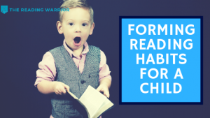 How to develop a reading habit in a child