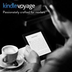 Best tablet for reading - Kindle voyage
