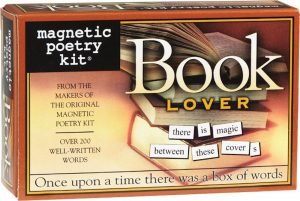 perfect gift for book lovers - Magnetic Poetry Kit