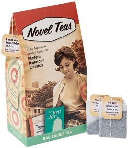 perfect gift for book lovers - Novel Teas