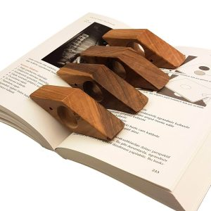perfect gift for book lovers - Wooden Book Page Holder