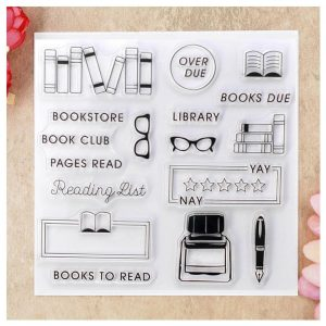 perfect gift for book lovers - book embossing stamp
