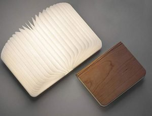 perfect gift for book lovers - folding portable book lamp