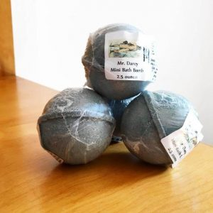 perfect gift for book lovers - mr.darcy bath bombs