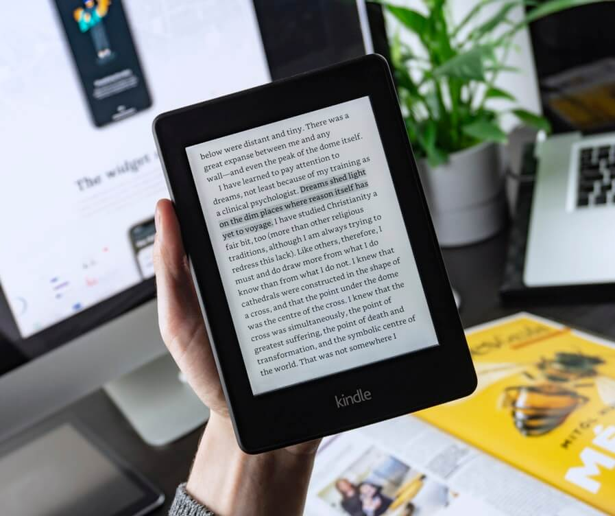 best tablets for reading - kindle